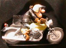 FIGURINE PIERROT MOTO GUZZI 750 V7 SPORT JOE BAR TEAM 1/18 BIKE RESINE
