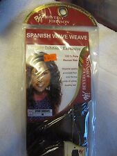 Beverly Johnson Exclusives 100% Human Hair Spanish Wave Weave SPWW 12 Color 30
