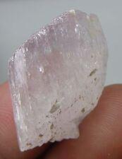 44.00Ct Afghranistan 100% Natural Rough Uncut Pink Kunzite Specimen 8.80g 28mm
