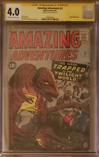 AMAZING ADVENTURES Vol1 #3 CGC 4 SS Stan Lee Signature Series Marvel Comics 1961