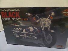 IMEX HARLEY DAVIDSON BLACK SPECAIL / FAT BOY FLSTF SEALED - 1/12 SCALE