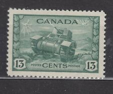1942 #258 13¢ RAM TANK KING GEORGE VI WAR ISSUE VFNH