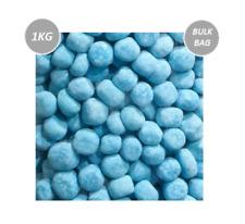 914078 1kg BULK BAG OF VIDAL GUMMI BRAINS RED BLUE WHITE CHEWY CANDY BRAINS