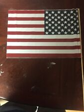 Lot of 10 American Flags 18/12 Inches made in Usa