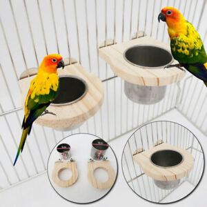 Parrot Bird Food Bowl Water Bowl Food Bird Cage Accessories Birds Feeding Cup