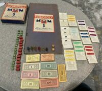 Vintage 1935 MONOPOLY GAME With Board Parker Brothers Inc.