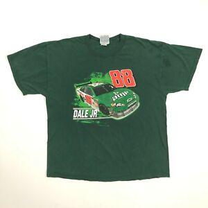 Winners Circle Dale Jr 88 2008 Nascar Sprint Cup Series Shirt Green Mens XL