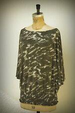 Michael Kors Size L Camouflage Fine Knit Top