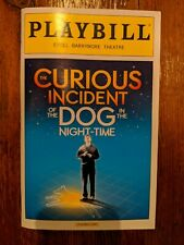 The Curious Incident of the Dog in Night-Time Playbill - Original Broadway Cast