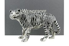 """WEINGEROFF KARL WILD """"WHITE"""" TIGER FIGURINE SWAROVSKI $2000.00 MADE IN USA BOX"""