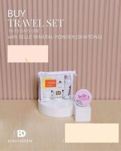 Beautederm Travel set(original) with Belle Mineral Foundation (skin tone)