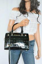 Michael Kors Kara Duffle Satchel Crossbody Bag, Large - Black