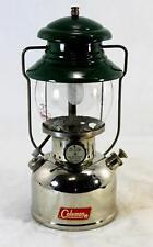 "Coleman 202 ""The Professional"" Nickel Green Single Mantle Lantern 10/61"