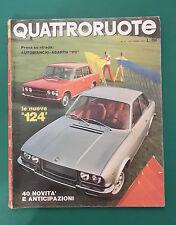 QUATTRORUOTE SETTEMBRE 1972