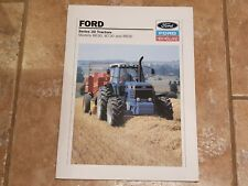 Ford Series 30 8630 8730 & 8830 Powershift tractor brochure c/w 22 pages