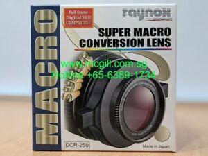 RAYNOX DCR-250 Super Macro Lens + 360° Flash Diffuser + Worldwide Shipping!