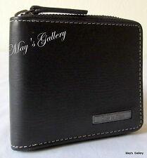 Calvin Klein Passcase Wallet BiFold lD Holder Purse Bag case Men Coin Pocket CK