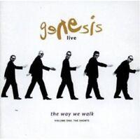 GENESIS - LIVE-THE WAY WE WALK VOL.1:THE SHORTS  CD 11 TRACKS POP NEU