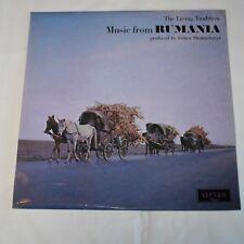 DEBEN BHATTACHARYA - MUSIC FROM RUMANIA. (UK, 1967,  ARGO, ZFB 41, STEREO)