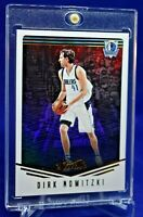 DIRK NOWITZKI PANINI STUDIO REFRACTOR SP DALLAS MAVERICKS LEGENDS FUTURE HOF