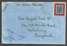 MALTA 1942 Cover sent On Active Service to - 99658