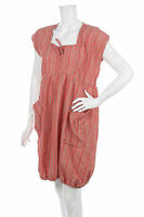 THE MASAI CLOTHING COMPANY CRUSHED LOOK BIG POCKETS DRESS KLEID Size M