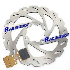 Rear Brake Disc Rotor & Pads Yamaha Raptor 660 YFM660R 2001 2002 2003 2004 2005