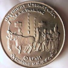 1972 THAILAND BAHT - FAO - AU - Collectible Coin - FREE SHIPPING - BIN #GGG