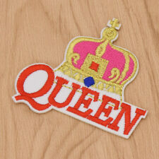 QUEEN Crown Embroidery Patch for Clothes Iron on Appliqued DIY Sewing Sticker
