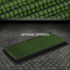 FOR 98-02 CHEVY CAMARO V6/V8 GREEN REUSABLE&WASHABLE HIGH FLOW PANEL AIR FILTER