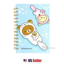 San-x Rilakkuma B6 Spiral Lined Notebook Note Pad : Otter Rilakkuma 2