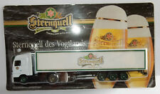 GRELL HO 1/87 CAMION REMORQUE TRUCK TRAILER MB ACTROS STERNQUELL BEER BIERE BOX