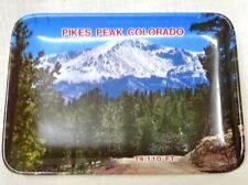 Vintage Pikes Peak Colorado 14,110' Souvenir Plastic Small Tray Collectible