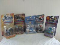 Skylanders Superchargers Lot Of 5 Frightful Fiesta High Volt power blue