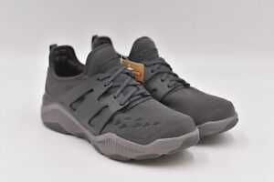 Men's Skechers Relaxed Fit Ridge Mandon Lace Up Sneakers, Dark Grey, 6.5