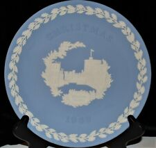 "Vintage Wedgewood Windsor Castle 8"" Plate Made In England Christmas 1969"