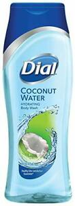 Dial Body Wash, Coconut Water, 16 OZ. (Pack of 3)