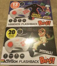 Activision & Legends Flashback Blast! 2 Wireless Controllers ~ Plug N Play Games