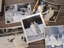 LOT OF 5 VINTAGE PHOTOGRAPHS 8 X 10 INCHES 1952 GROSSINGER'S RESORT PENNSYLVANIA