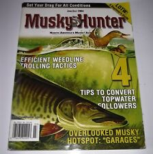 Musky Hunter Magazine June/July 2004: Beginners Guide to Lake of the Woods