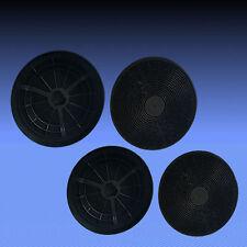 4 Aktivkohlefilter Fettfilter für Dunstabzugshaube PKM 6090H , 6004H , 9004H