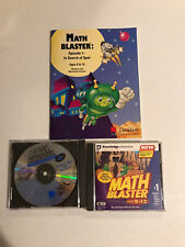 Davidson Math Blaster lot And In Search Of Spot Pc Cd Windows/Mac age 9-12 Euc