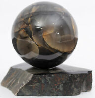 RUSSIA SHUNGITE sphere polished 50mm Schungite Schungit ball