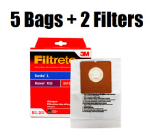NEW Filtrete 3M for Hoover R30 Eureka L Vacuum Bags + Filters Combo Pack 64706