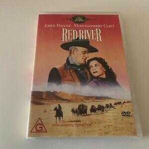 RED RIVER - DVD Region 4 - John Wayne VERY GOOD CONDITION
