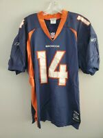 Rare VTG Reebok Authentic NFL Denver Broncos Brian Griese 14 Jersey Mens 52 2XL