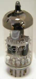 New Old Stock Mullard PCC189 double triode valve