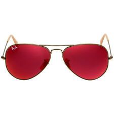 Ray-Ban Aviator Flash Red Mirror 58 mm Sunglasses RB3025 167/2K 58