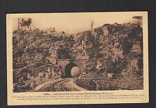 TUNNEL dans GORGES DE L'ALLIER (43) Ligne FERROVIAIRE P.L.M. PARIS-NIMES