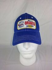 Rome Braves Minor League Mesh Snapback Youth Hat Cap Blue & White